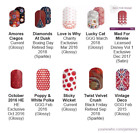 More Graphic & Geometric designs ~ Jamberry nail wraps ~ HALF sheets