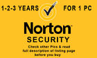 Norton Security 2018 For 1 Windows PC 1-2-3 Years Worldwide Check All Pics