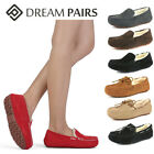 DREAM PAIRS Women's Auzy Soft Sheepskin Suede Leather Winter Moccasins Slippers