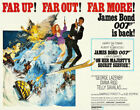 Decoration POSTER print.James Bond 007.Far up.Home Room interior art wall.6724 $28.0 USD on eBay