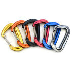 1pcs 12KN Lightweight 7075 Aluminum Wire Gate Carabiners Clips for Hammocks