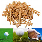 Golf Tees 3 1/4 Inch-83mm Wood Color Bulk 200 Count Professional 4 Colors