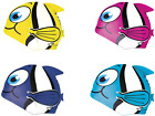 Spokey Childrens Novelty Fish Hat Unisex Silicone Waterproof Swimming Pool Caps
