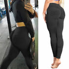 Damen Leggings Push Up Hohe Taille Sport Yoga Gym Fitness Jogginghose Leggins ES