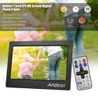 7'' HD Electronic Digital Photo Frame Calendar Album Picture Movie MP4 Play Z0E9