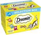 DREAMIES CAT TREATS MULTI PACK SELECTION BOX 4 x 30g CRISPY TREATS