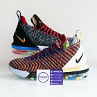"Nike Lebron XVI 16 LMTD What The ""1 Thru 5"" BQ6580-900 Size 8-13 SHIPS NOW"
