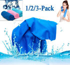 1/2/3 Pack Cooling Towel Instant Sweat Cool Towel For Sports Yoga Workout Hiking image