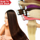 Strong Adhesive Tape in 100% Remy Human Hair Extensions E...