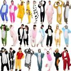 New Unisex Adult Pajamas Unicorn Kigurumi Cosplay Costume Animal Sleepwear Xmas