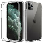 For iPhone 11 Pro Max/XR/XS Max Clear Case +Wireless Charger Charging Stand Dock