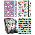 Notebook Note Book Pad Jazzy Journal A5  LARGE Jotter Diary Home Gift