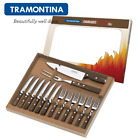 TRAMONTINA Steak Cutlery Set 14 Pcs.Pizza Grill Cutlery BBQ Fork Knife Churrasco