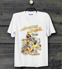 American Graffiti 70s Retro Film Poster Vintage Hipster Unisex T Shirt B71 image
