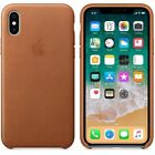 New OEM Leather Phone Case Original Protect Cover For Apple iPhone XS XR XS Max