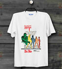 JAMES BOND DR NO FILM MOVIE Poster Retro CooL 80s Vintage Unisex T Shirt B196 $8.6 USD on eBay