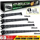 Single Row 6D 8-32'' Led Work Light Bar Combo Beam for Offroad  4x4 4WD ATV UTE $70.77 CAD on eBay