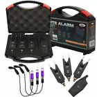 NGT VS BITE ALARMS SETS SET WITH RECEIVER 3 OR 2 ALARMS SET WITH FISHING BOBBIN