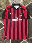 AC Milan Home Soccer Jersey 2018/2019 Red + Black S - 2XL
