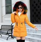 2018 Fashion winter coat women Long thicken down cotton-padded faux