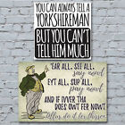 Yorkshire Canvas Art Prints. Traditional Quotes Saying House Office Room Decor