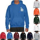 Los Angeles LA Dodgers Hoodie Warm Fleece Pullover Sweatshirt Team Uniform 0105 on Ebay