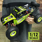 12428 Off Road RC Cars 1/12 Rock Crawler 21+MPH 4WD Climbing RTR Buggy 2.4G Toys