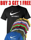 Just Hook It ADULT funny T shirt,Meme Swoosh Sports Men's