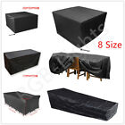 8 Size Waterproof Garden Patio Furniture Cover For Rattan Table Cube Outdoor Use