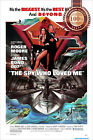 NEW THE SPY WHO LOVED ME JAMES BOND ORIGINAL OFFICIAL MOVIE PRINT PREMIUM POSTER $109.95 AUD on eBay