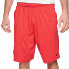 New NIKE mens shorts 3XL 4XLT DRI-FIT training 10 inch black red swoosh cotton