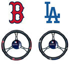 New MLB Boston Red Sox or Los Angeles Dodgers Car Truck Steering Wheel Cover on Ebay