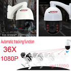 36X 1080P HD AHD High Speed PTZ Dome Zoom Night Vision CCTV Security Camera IP66