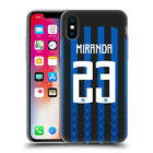 INTER MILAN 2018/19 PLAYERS HOME KIT GROUP 2 GEL CASE FOR APPLE iPHONE PHONES