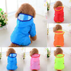 Внешний вид - Pet Dog Rain Coat Clothes Puppy Casual Waterproof Jacket Hooded Raincoat XS-XL