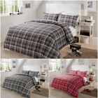 New Olivia Rocco Check  Duvet Covers Quilt Covers Reversible Bedding Set
