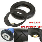 1/2/4 pcs 10x2.125'' Rubber Tire Inner Tube  F/ Self Balancing Electric Scooter