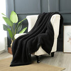 Reafort Ultra Soft Double Layer Sherpa Oversized Throw Blanket image
