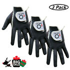 Right Hand Golf Glove XL 3 Pack Men's Left Hand Right Rain Grip All Weather US