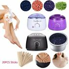 Hot Wax Warmer Heater Pot Machine Kit Salon Spa Hair Removal + 400g Waxing Beans $16.46 USD on eBay