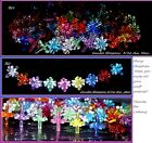 90 GREEN CANDLE Blossom  or 9 color Ceramic Christmas tree light top bulb twist  image