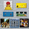 Lego Canvas Art Prints. Alt Art Cult Popular Film Music Home Wall Decor