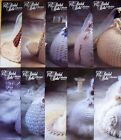 "ANNIE's Crochet Patterns BRIDAL BELLE GOWNS for 11-1/2"" Barbie *YOU CHOOSE"