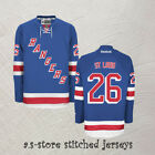 New York Rangers Stitched Ice Hockey Jersey 26 Martin St Louis Light Blue