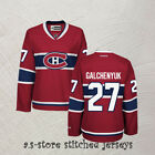 Montreal Canadiens 27 Alex Galchenyuk Ice Hockey Jersey Red New Stitched