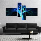 Designart 'Magical Blue Psychedelic Tree' Abstract Canvas Art Print