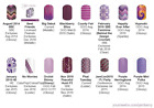 Purple Graphic designs ~ Jamberry nail wraps ~ HALF sheets ~ revised 10/28