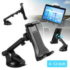 """360° Car Dashboard Windshield Suction Cup Mount Holder for Phone & 4-12"""" Tablets"""