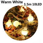 Night Lighting Xmas Decor LED String Fairy Lights Copper Wire Round Ball Blubs