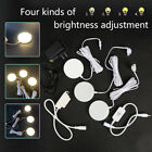 Внешний вид - Dimmable LED Under Cabinet Lighting Wireless LED Puck Lights Lamp with Remote US